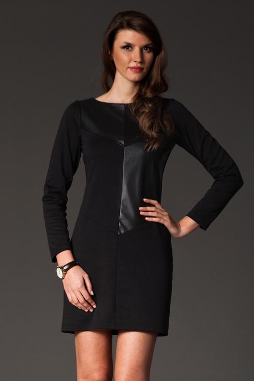 0b7f6e5935a Dámské šaty FIGL M148 černé výprodej - FIGL (Akce a slevy)