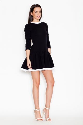 Dámské šaty Katrus K266 černé
