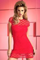 Dámské šaty Obsessive Dressita červené XXL