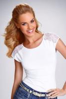 Dámské tričko Eldar Tosca bílé