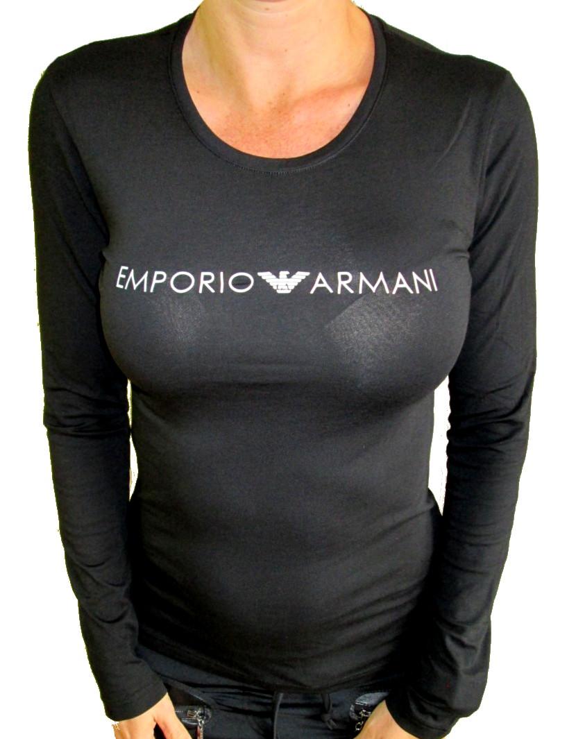 2262376b5a Dámské tričko Emporio Armani 163229 8A317 černé - Emporio Armani ...