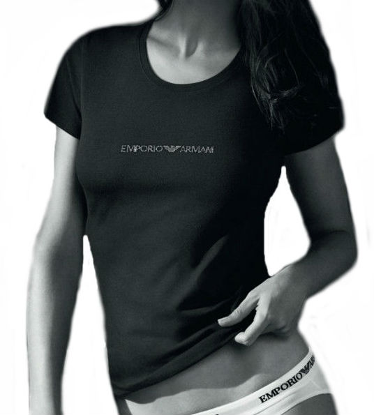 f5aa8fc93d30 Dámské tričko Emporio Armani 163320 CC317 - Emporio Armani (Novinky)