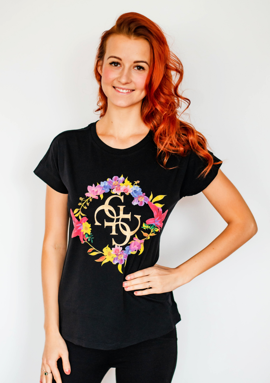 a45552472ded Dámské tričko Guess O91A03 - GUESS (Trika