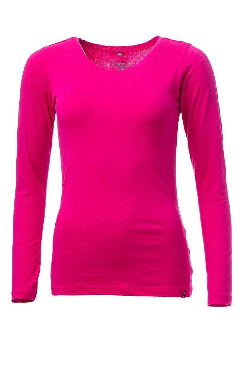 59e6c3707a93 Dámské tričko s dlouhým rukávem O´Style 6452 růžové - O STYLE (Trika ...