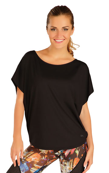 Dámské volné tričko Litex 51187 černé - Litex (Akce a slevy) e8186162f9