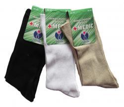 Dámské zdravotní ponožky Novia Medic 100% bavlna