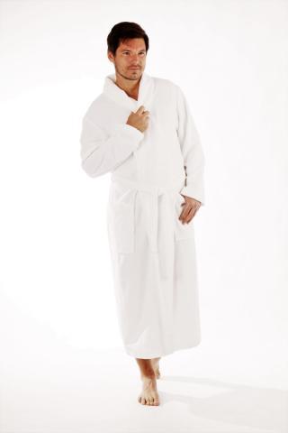 Dámský či pánský župan se šálovým límcem Vestis 2150 Sauna