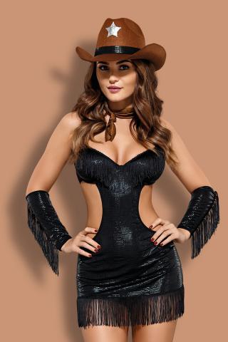 Dámský erotický kostým Obsessive Sheriffia