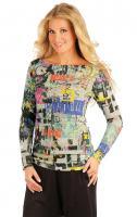 Dámský svetr s dlouhým rukávem Litex 87373