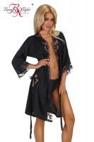 Dámský župan Beauty night Fashion Ambrosia černý