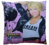 Dekorativní fotopolštářek Dadka Hannah Montana