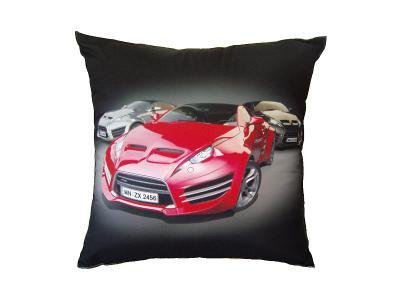 Dekorativní fotopolštářek Dadka Sportovní auta