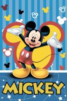 Dětská fleecová deka Mickey 2016