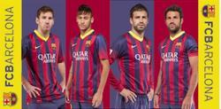 Dětská osuška FC Barcelona 03 hráči