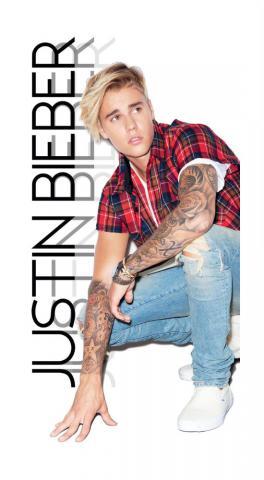 Dětská osuška Jerry Fabrics Justin Bieber