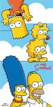 Dětská osuška Jerry Fabrics Simpsons family Clouds