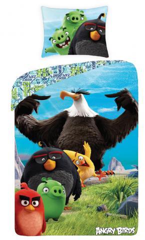 Dětské bavlněné povlečení Angry birds 1174