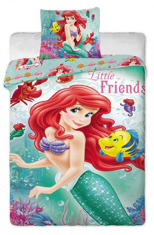 Dětské bavlněné povlečení Disney Ariela 2014