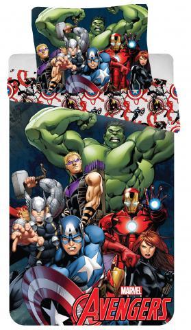 Dětské bavlněné povlečení Disney Avengers 2016