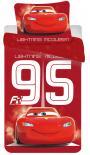 Dětské bavlněné povlečení Disney Cars 95 red
