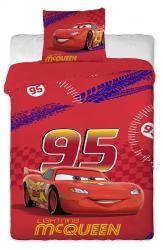 Dětské bavlněné povlečení Disney - Cars Mc Queen