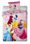 Dětské bavlněné povlečení Disney Princezny dancing