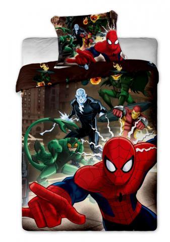 Dětské bavlněné povlečení Disney Spiderman brown