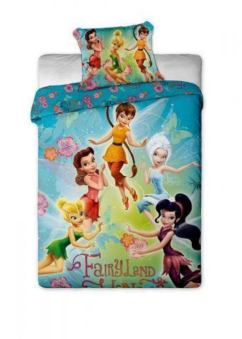 Dětské bavlněné povlečení Fairies