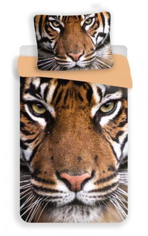 Dětské bavlněné povlečení fototisk Tygr 2017