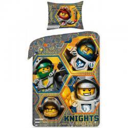 Dětské bavlněné povlečení Halantex Lego 8989