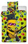 Dětské bavlněné povlečení Simpsons Bart guitar 2015