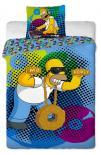 Dětské bavlněné povlečení Simpsons Homer DJ 2015
