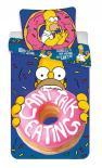 Dětské bavlněné povlečení Simpsons Homer Donut
