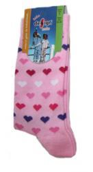 Dětské ponožky Design Socks srdíčka