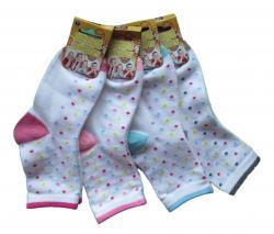 Dětské ponožky Novia puntík 3 páry
