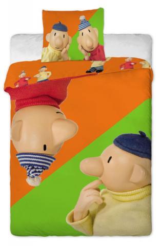 Dětské povlečení bavlna Pat a Mat orange