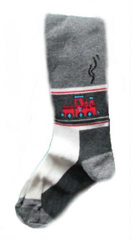 Dětské punčocháče Design Socks Vláček