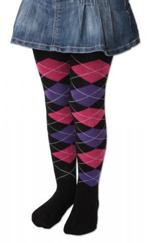 Dětské punčocháčky Design Socks - káro