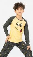 Dětské pyžamo dlouhé Vienetta Secret Jakub