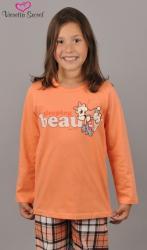 Dětské pyžamo dlouhé Vienetta Secret Méďa Beauty