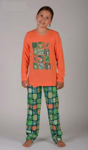 Dětské pyžamo dlouhé Vienetta Secret Králíci