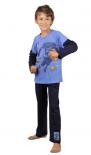 Dětské pyžamo dlouhé Vienetta Secret Roman