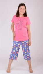 Dětské pyžamo kapri Vienetta Secret Sova