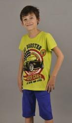 Dětské pyžamo kapri Vienetta Secret Auto turbo Booster