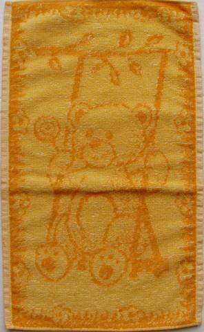 Dětský froté ručník - medvídek - velikost 30x50 cm