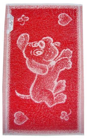 Dětský froté ručník - pejsek - velikost 30x50 cm