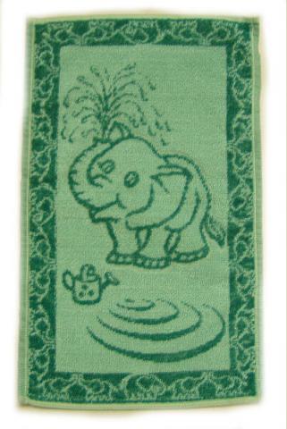 Dětský froté ručník - slůně - velikost 30x50 cm