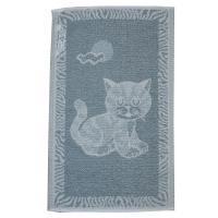 Dětský ručník Kotě šedé