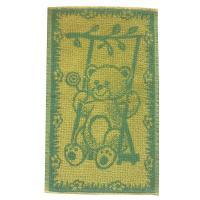 Dětský ručník Medvídek žlutozelený