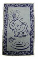 Dětský ručník Slůně modré